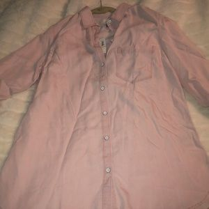 Brand New Old Navy Pink Button Down Shirt